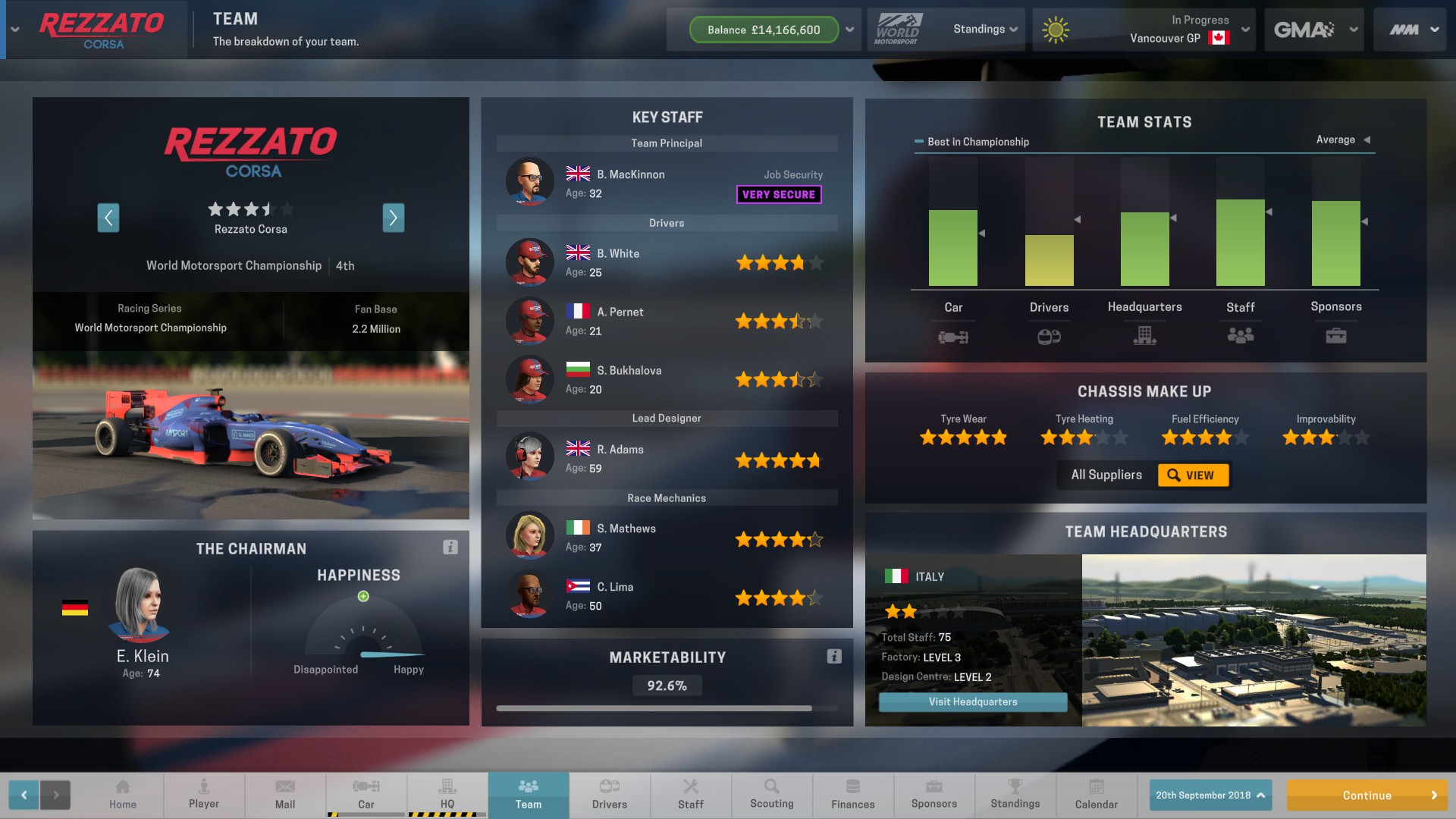 Motorsport Manager is developed by Playsport Games but published by ...